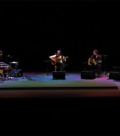 Vicente Amigo  y sus músicos en el Festival Flamenco de Torrent, en noviembre./ (Paco Valiente)