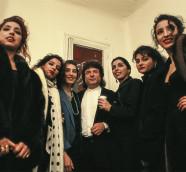 Enrique Morente y familia. / (Manuel Monta)