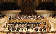 La Orquesta de València en la sala sinfónica del Palau de la Música./ (E. R)
