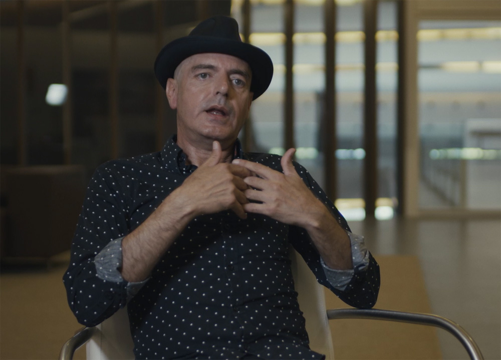 "Antonio Arias, fotograma del documental ""Morente"""
