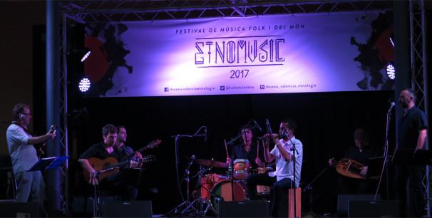 Xiromita Trad Project en el Festival Etnomusic 2017./ (Paco Valiente)