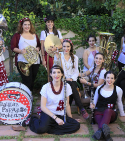 Balkan Paradise Orchestra actúa el próximo fin de semana en Xàbia, Alicante