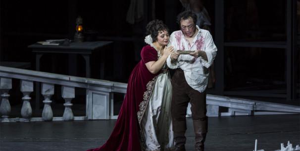 Representación de 'Tosca' en Les Arts./ (Miguel Lorenzo)
