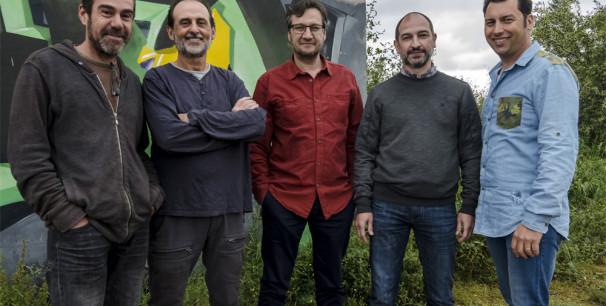 El grupo Urbàlia Rurana, desde 1990 música de raíz valenciana y mediterranea./ (Vicente A. Jiménez)