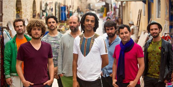 El grupo Gabacho Maroc, mucho más que jazz-gnawa./ ( Polka-Photos)