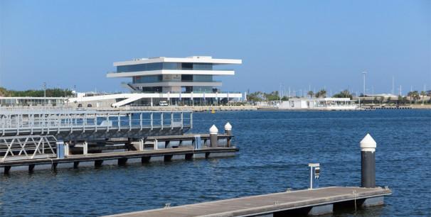 El edificio Veles e vents en el puerto de Valencia acoge nuevamente Jazz & Cookin./ (Paco Valiente)