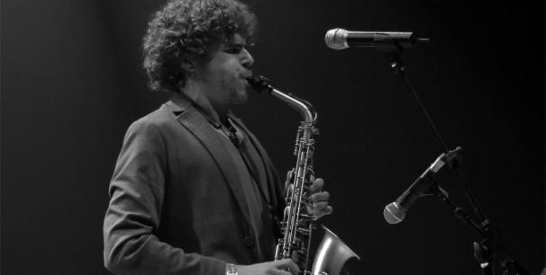 El saxofonista y también cantaor de la Isla de San Fernandando Antonio Lizana./ (Paco Valiente)