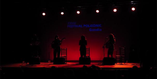 Polisònic llevanta el telón, conciertos en Gandia todos los fines de semana./ (P. V.)