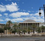 El Palau de la Música de València y los Jardines del Túria. (Pacp Valiente)