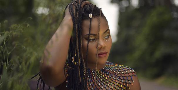 Licelv Mauwa, la artista de la República del Congo ha sido de las mejores de Visa For Music 2018
