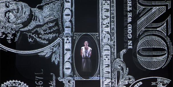 """Albert Pla en el proyecto escénico """"Miedo"""" aparece en sus dos facetas, como músico y actor."""