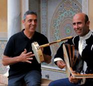 El cantaor valenciano Pep Gimeno Botifarra y el músico marroquí Ahmed Touzani