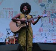 Nakany Kanté en el escenario de Etnomusic Primavera 2018./ (Paco Valiente)