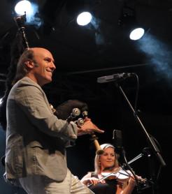 Carlos Núñez el pasado mes de junio en Gandia./ (Paco Valiente)