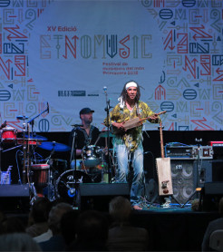 Gabacho Maroc en Etnomusic 2018./ (Paco Valiente)