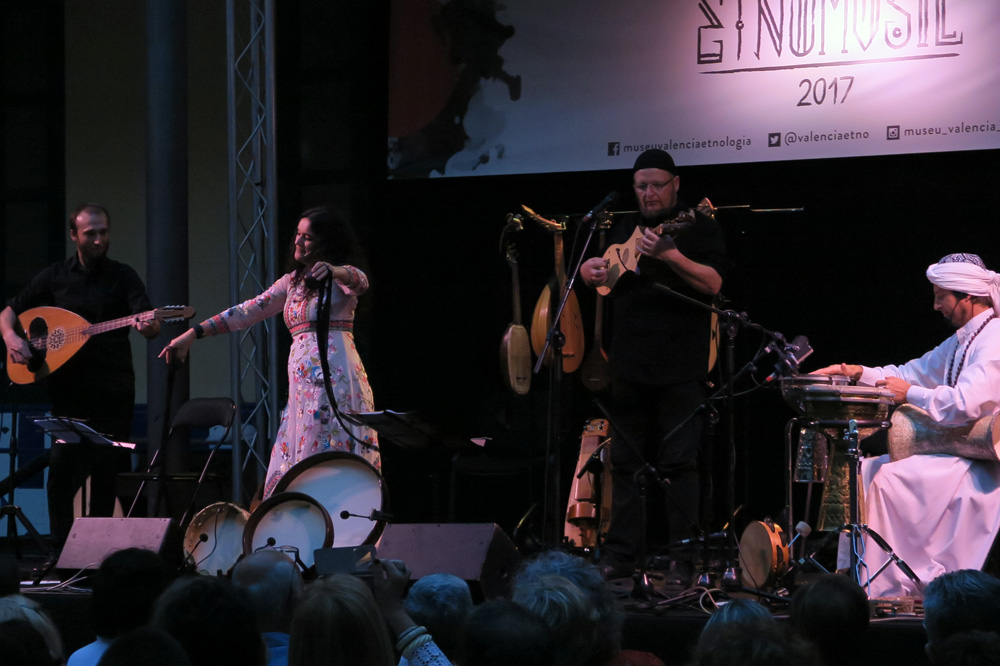 Mara Aranda presentó en el Festival Etnomusic 2017 el primer trabajo