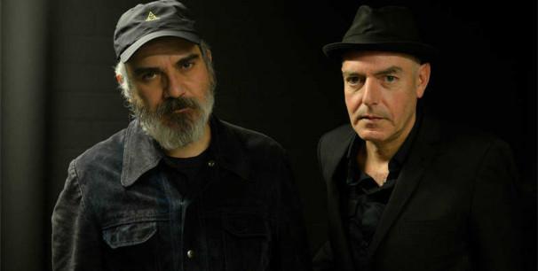 Fernando Alfaro (Surfin' Bichos) y Antonio Arias (Lagartija Nick)