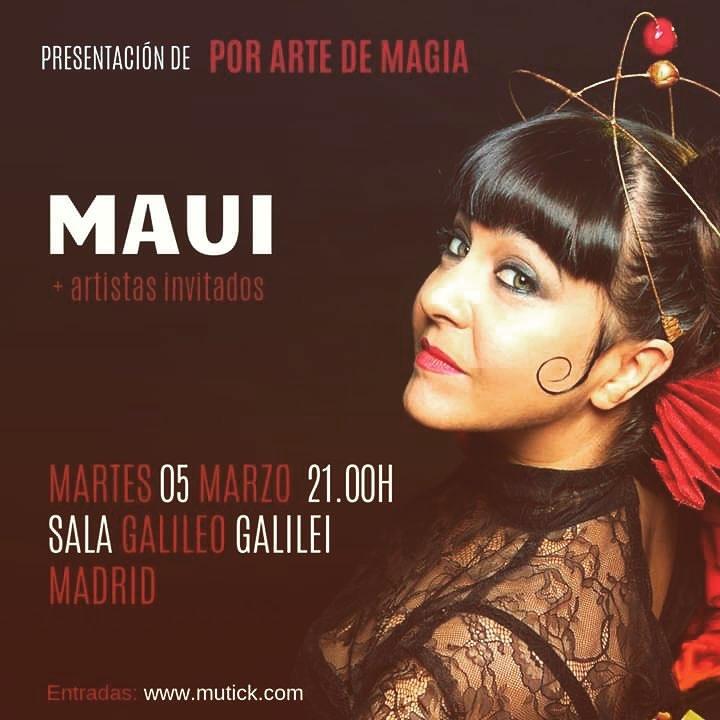 Maui - 5 marzo madrid Presenta CD