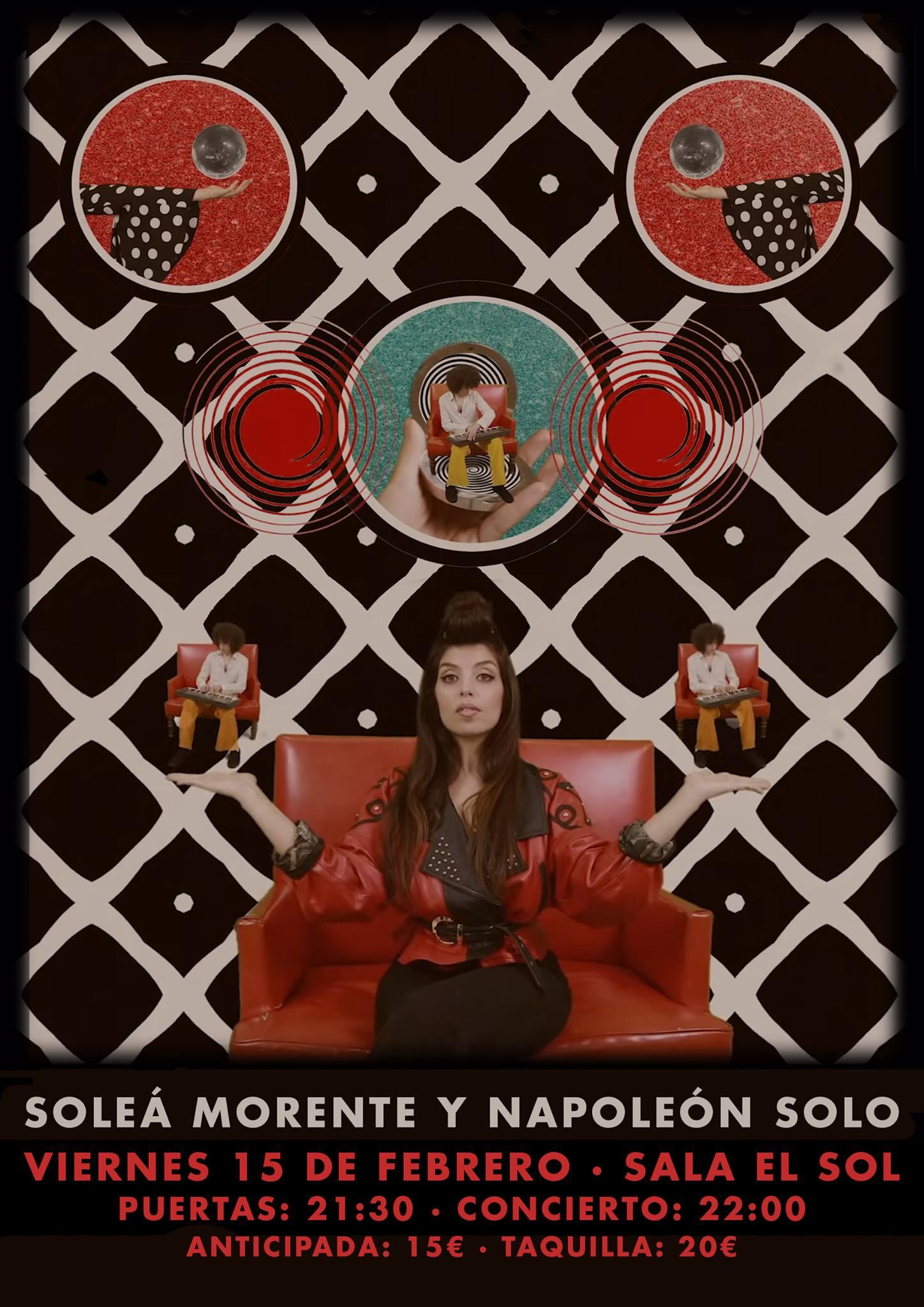 Solea Morente 15 febrero 2019 Madrid Fin de gira
