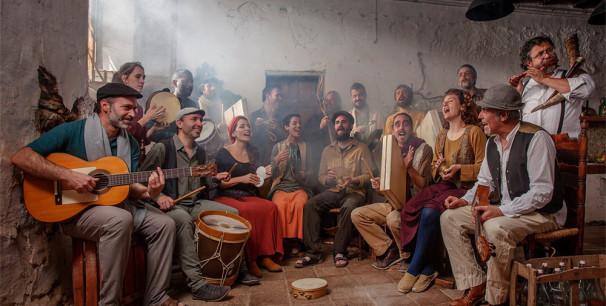 Coestus, la primera orquesta de percusión ibérica, dirigida por Aleix Tobias