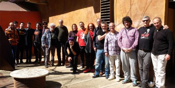 Elenco de artistas que participan en el homenaje a Pep Laguarda este domingo 31 de marzo