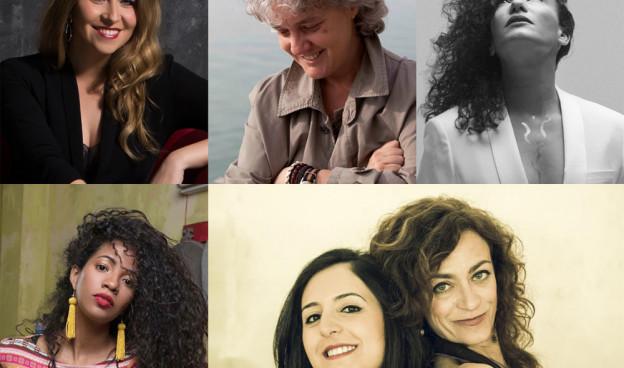 Algunas de las grandes artistas que entrevistamos en el programa a lo largo de 2018