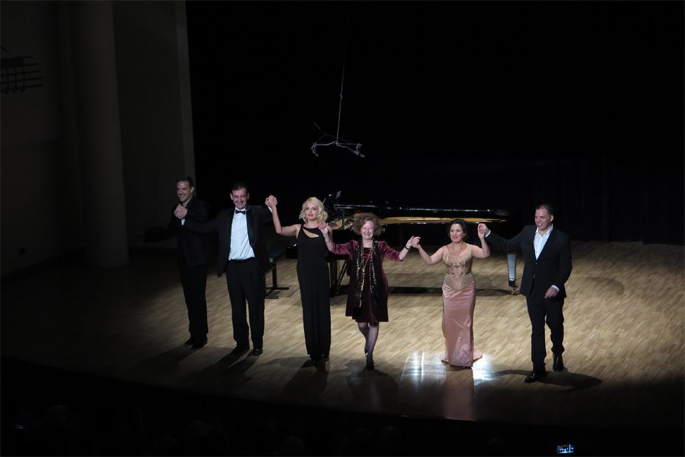 Final de la Gala Lírica en noviembre 2018 en 'Las Artes en paralelo' (P. V.)