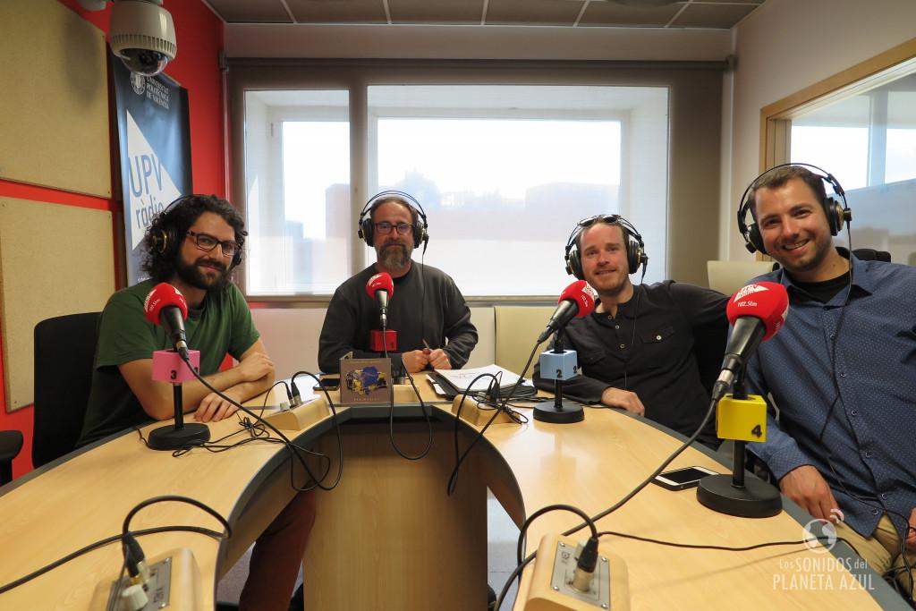 En los estudios de UPV Ràdio