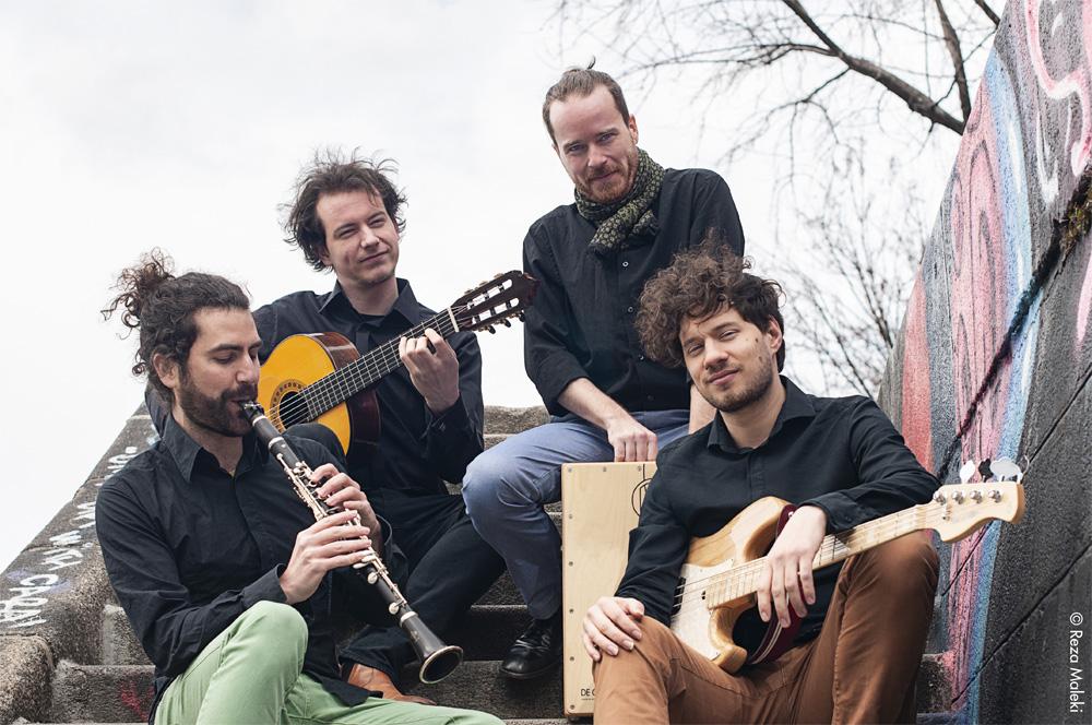 Oscar Antolí Quartet./ (Reza Maleki)