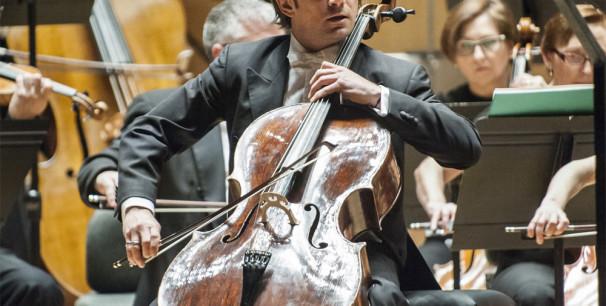 Gaultier Capuçon, el violonchelista francés en una visita anterior al Palau de la Müsica./ (Revelarte)