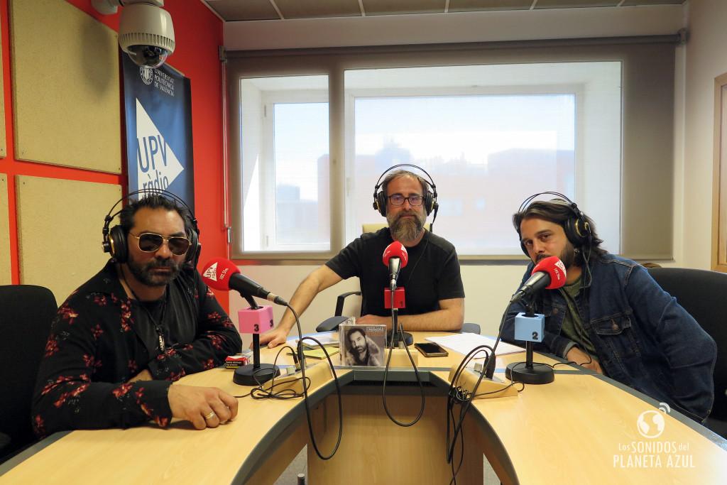 Pepe Luis Carmona Habichuela durante la entrevista en UPV Ràdio.