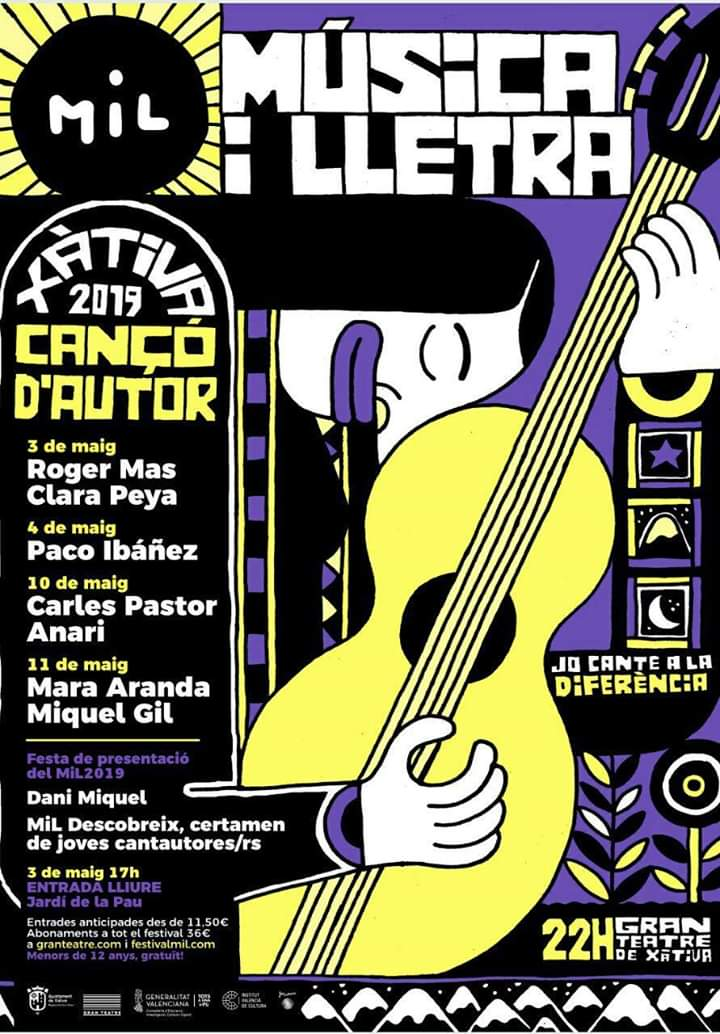 cartel_Festival Letra i Música Xativa 2019