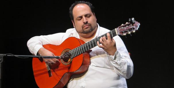 Juan de Pilar presenta su segundo disco en Panorama Flamenco./ (Paco Valiente)