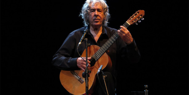 Paco Ibáñez en el Teatre Olympia de València, el pasado 25 de marzo./ (Paco Valiente)