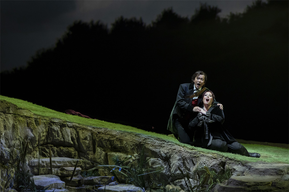 La soprano Jessica Pratt y  el tenor Yijje Shi./ (M. L. y M. P.)