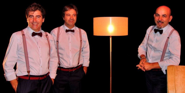 "Pau Ballester, Ángel García y Jesús Salvador ""Chapi"" , AMORES Grup de Percussió"
