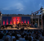 Concierto del Festival de Jazz de València en los Jardines del Palau el pasado 2018./ (Paco Valiente)