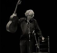 Paco Ibáñez en el Teatre Olympia de València, el pasado mes de marzo ./ (Paco Valiente)