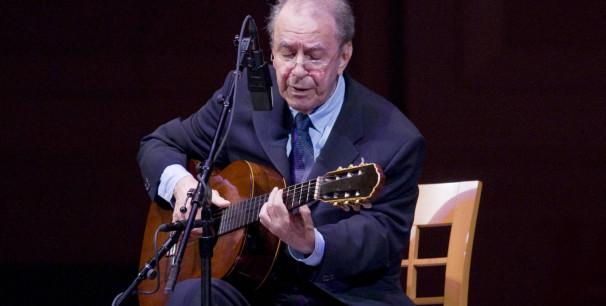 João Gilberto en 2008 en Nueva York./ (J. V.)