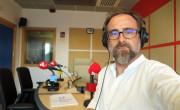 Paco Valiente, 15 temporadas realizando el programa desde UPV Ràdio  y en antena desde 2001./ (P. V.)