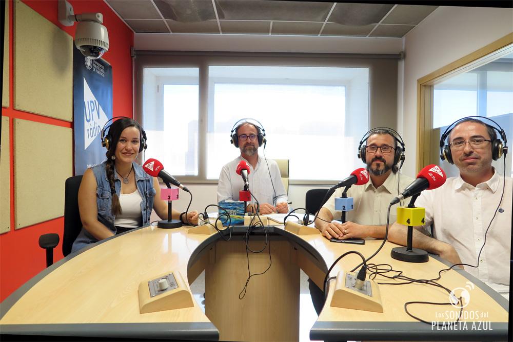 Innerlands durante la entrevista en UPV Ràdio