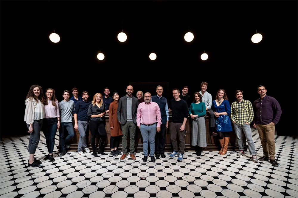 Un elenco de cantantes del Centre Plácido Domingo protagonizan la ópera de Poulenc en Les Arts