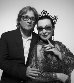 Martirio y Chano Domínguez interpretan a Bola de Nieve./ (Jesús Ugalde)