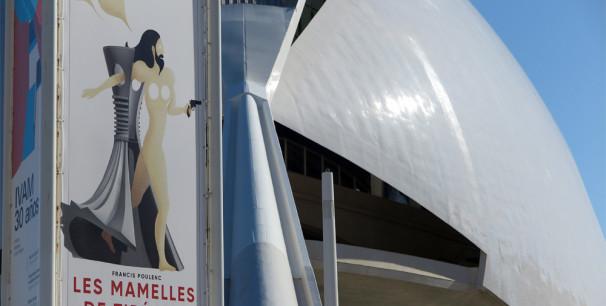 'Les mamelles de Tirésias' de Poulenc en Les Arts./ (Paco Valiente)