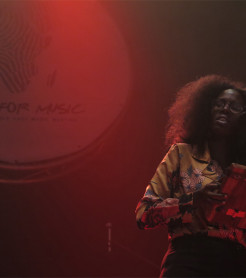 Escenario de Visa For Music, salón de la música de África y Oriente Medio, en 2018./ (Paco Valiente)