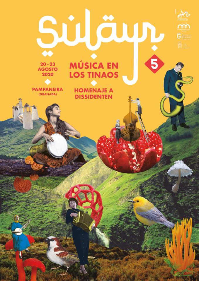 El cartel de la quinta edición es obra de la diseñadora Marta Vázquez.