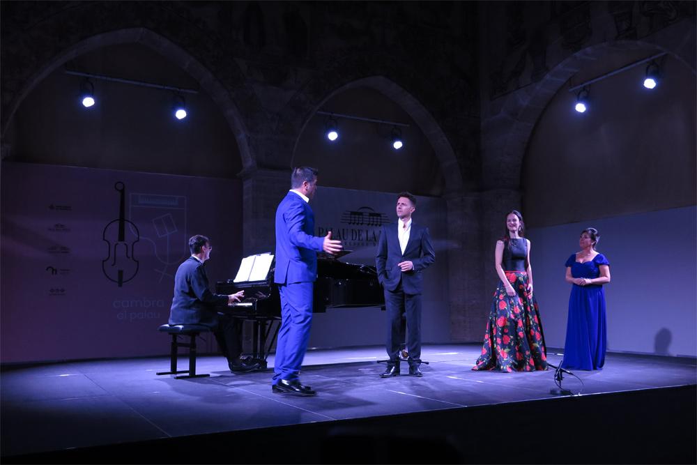 Gala 'El costumbrismo en la zarzuela', en noviembre pasado, Las Artes en Paralelo./ (P. V.)