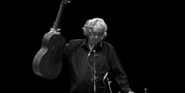 Paco Ibáñez en el Teatro Olympia de València, el pasado 25 de marzo de 2019./ (Paco Valiente)
