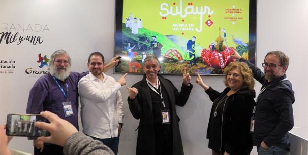 Presentación de la V edición del Festival Sulayr Pampaneira en el stand de Granada en Fitur./ (N. R.).