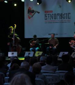 Aljub en el Festival Etnomusic 2019,  en el Museu Valencià d´Etnologia, València./ (Paco Valiente)